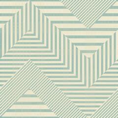 Seamless stylish geometric pattern. Classic Art Deco seamless pattern on texture background. Abstract Vintage retro vector Islamic wallpaper. Lattice graphic design. Vector modern tiles pattern.