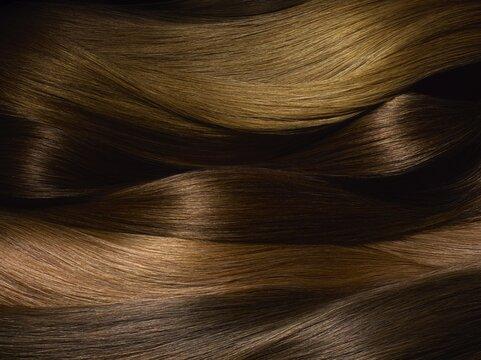 wavy hair, wig