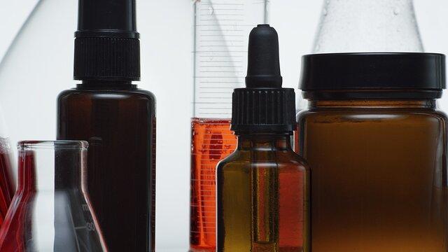 bottle, laboratory, beauty care