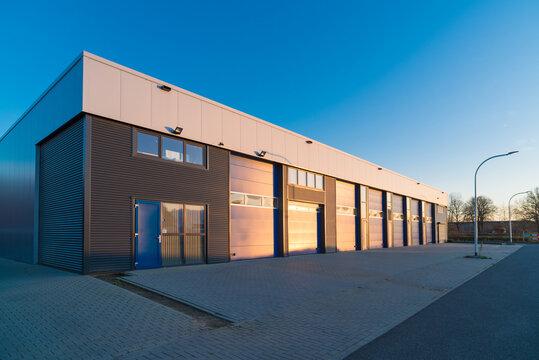 modern small warehouse