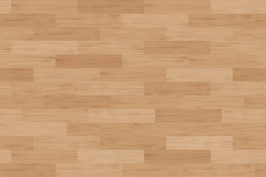 Floor wood parquet. Flooring wooden seamless pattern. Design laminate. Parquet rectangular tessellation. Floor tile parquetry plank. Hardwood tiles. Rectangles slabs brown wooden. Vector background