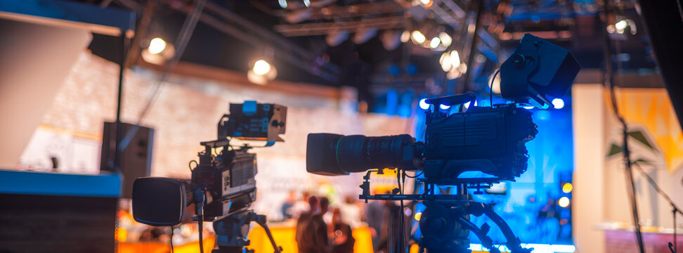 TV camera in recording