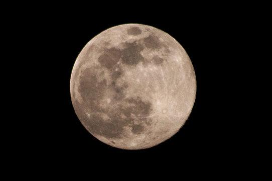 Luna gialla
