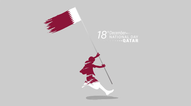 National Day of Qatar. A national holiday celebrating the union and gaining independence Qatar December 18, 1878.