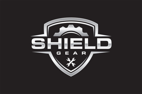 shield gear mechanical logo