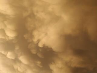 Mas nubes que parecen arte Wall mural