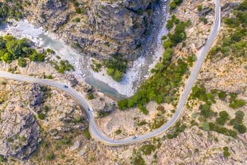 Wall Mural - Asco river gorge