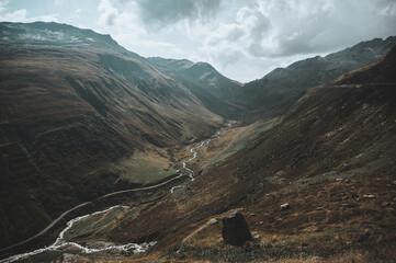 Landschaft am Furka Pass