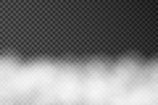 Fog or smoke stock vector image