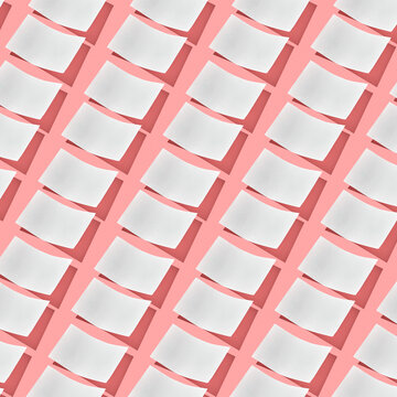 Creative background from empty paper sheets.