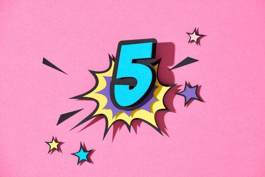 Five. 5.