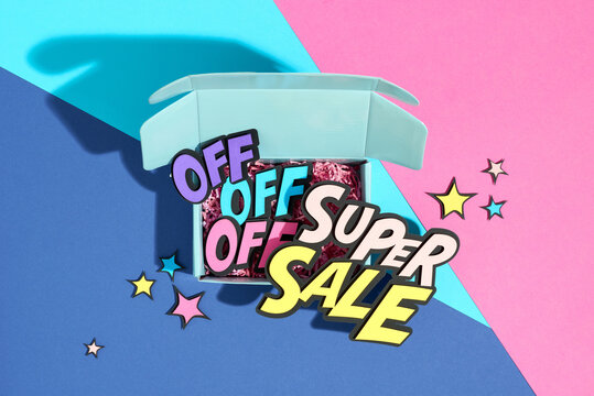 Creative abstract Super Sale