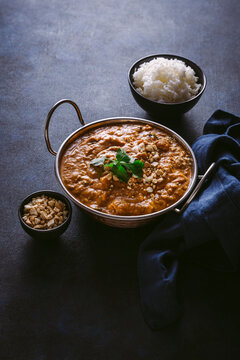 Vegan West African Yam Stew with Rice