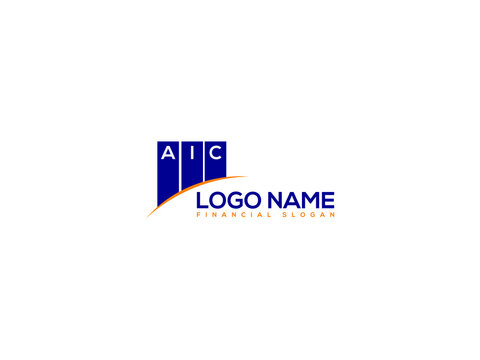 financial AIC logo image, aic letter type logo