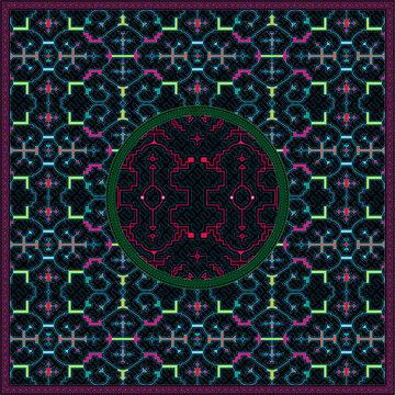10 of 12 Shipibo Conibo artwork patterns HD set