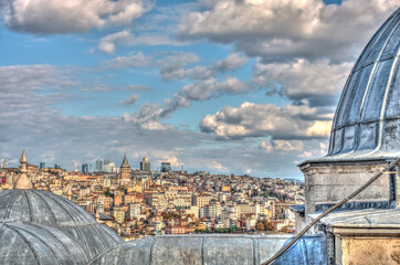 Wall Mural - Istanbul, Golden Horn, HDR Image