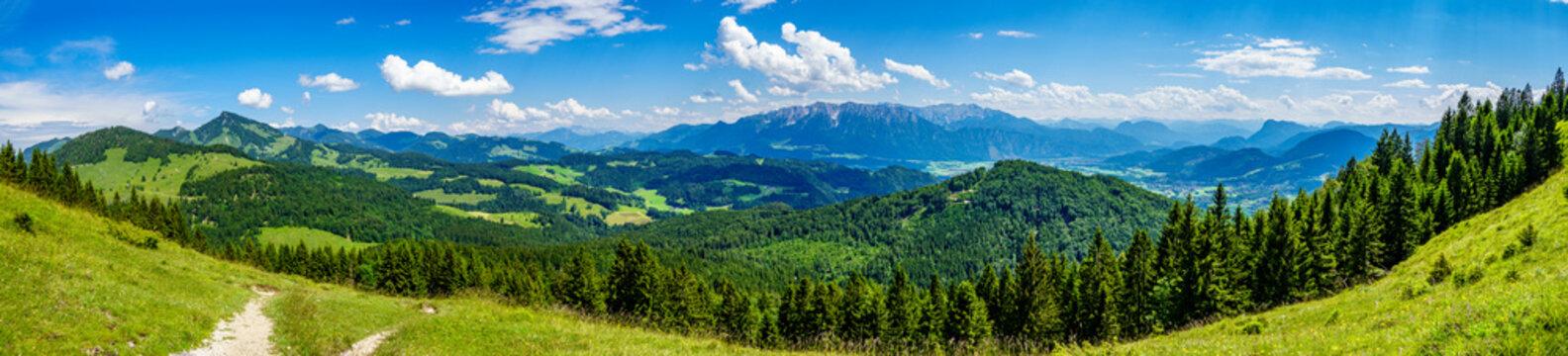 view at the kranzhorn mountain - austria