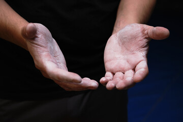 The types of Grips we use during workouts.