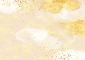 背景 テクスチャ 高級感 金色 金屏風 金紙 年賀状 正月 和紙 壁紙 キラキラ ビンテージ アンティーク レトロ