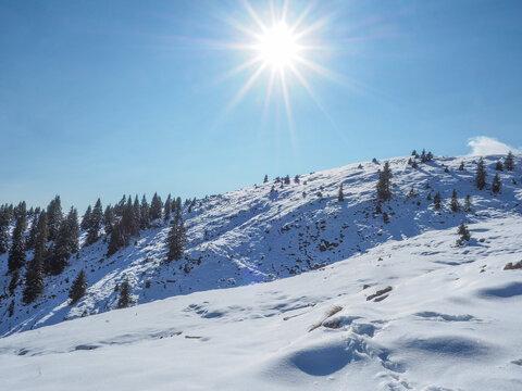 Winterwandern auf den Simetsberg (Bayerische Alpen)