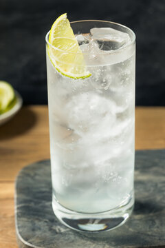 Refreshing Boozy  Tequila Tonic