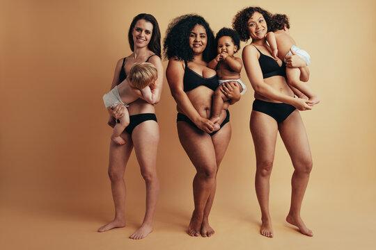 Different postpartum bodies