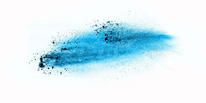 Dust Powder Image In White Background