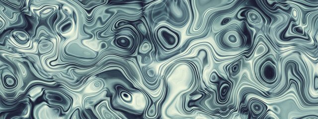 Abstract wavy fluid pattern banner background
