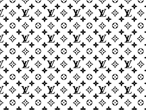Louis vuitton logo illustrative editorial commercial image