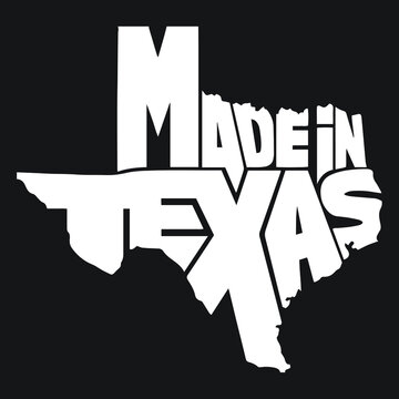 Made in Texas design - Vector file