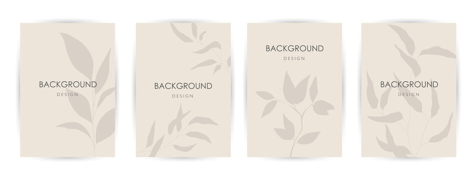 Elegant continuous line drawing. Minimal Set of abstract creative universal artistic templates. Good for poster, card, invitation, flyer, cover, banner, placard, brochure and other graphic design.