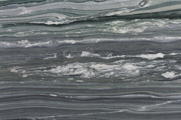 Verde chipollino - natural marble stone texture, photo of slab.