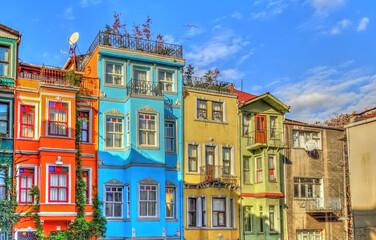 Wall Mural - Balat neighbourhood, Istanbul, HDR Image