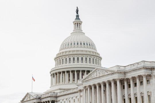 United States Capitol in Washington DC