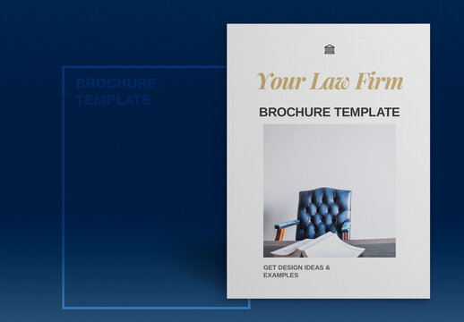 Law Firm Brochure Layout