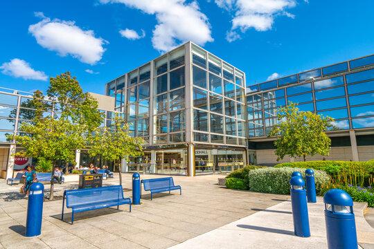 Milton Keynes,England-August ,2019:Intu Central Milton Keynes Shopping Centre is a regional shopping centre located in Milton Keynes