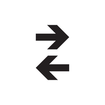 Arrow icon isolated on background. Trendy vector symbol. Arrow icon in flat style. Creative arrow template for web site, app, graphic design, ui and logo. Arrow vector symbol