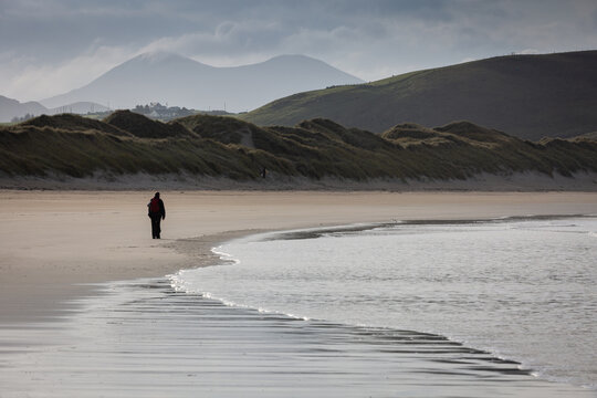Exploring Tramore Beach County Donegal Ireland