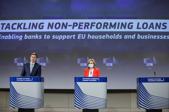 EU executive sets out plan to deal with bad bank loans