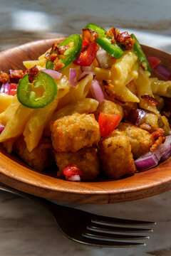 Tater Tot Mac and Cheese