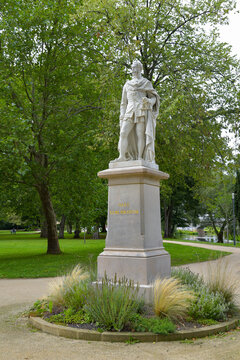 Denkmal von Max II. - König von Bayern in Bad Kissingen