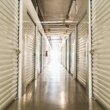 Self-storage lockers