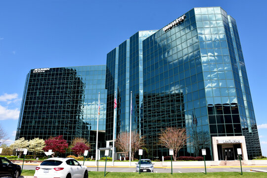 Office Building in Tysons Corner, Fairfax County, Virginia, USA