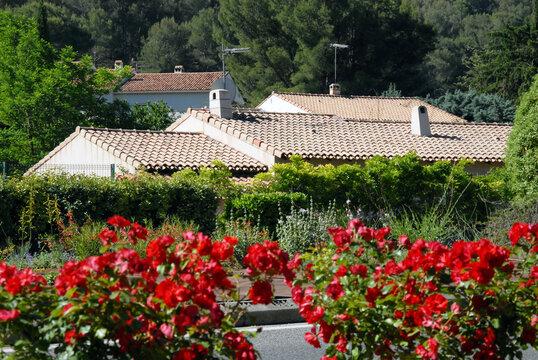Ville de Carnoux-en-Provence, département des Bouches-du-Rhône, france