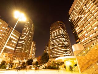 Fototapete - 東京都 夕暮れの品川駅