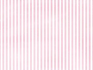 Fototapeta 優しくかわいいピンク×白の細ストライプ背景