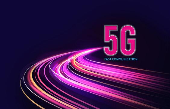 Next generation 5G highspeed internet connection