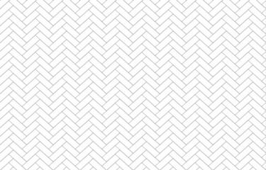 Obraz The herringbone pattern isolate on white background vector. - fototapety do salonu