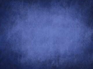 Sfondo blu scuro viola sbiadito al centro. Web banner astratto texture muro grunge Fotobehang