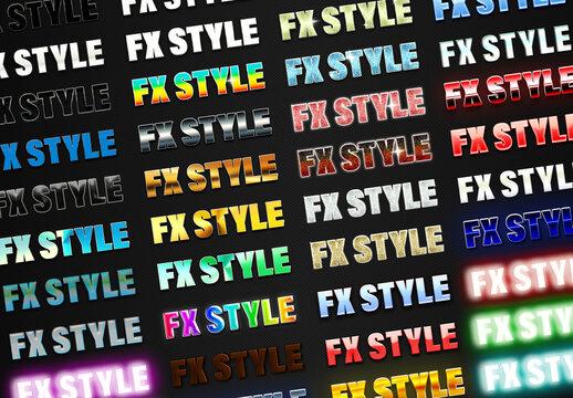 Smart Fx Style Text Effect Bundle